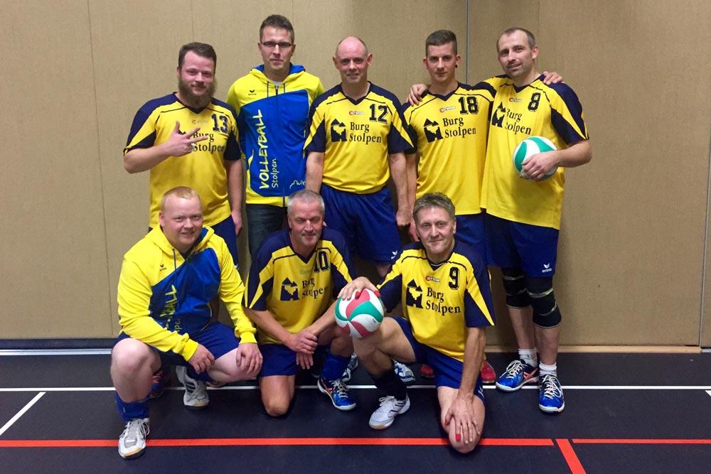 2. Herrenmannschaft Volleyball SV Blau-Gelb Stolpen