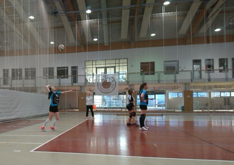 Stolpener Volleyball-Damen am 1. Advent